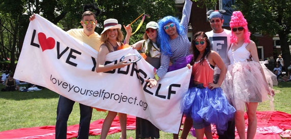 Image of Love Yourself Project events at Figment, New York City