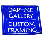 Logo for Daphne Gallery Custom Framing