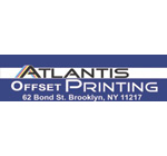 Logo for Atlantis Offset Printing