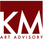 Logo for KM Art Advisory - Kimberly Marrero