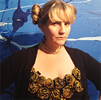 Image of artist Charlotte Mouquin, board member of Love Yourself Project